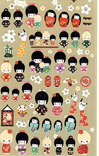 DECO-FAIRY-Lovely-Cute-Japanese-Doll-Stickers