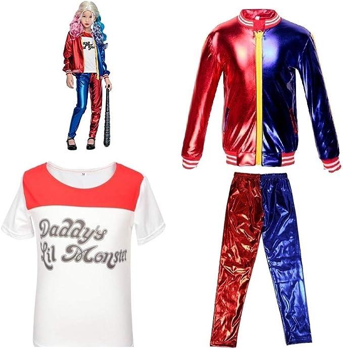 Ropa para niñas y niños Suicide Squad DC Comics Cosplay Harley ...