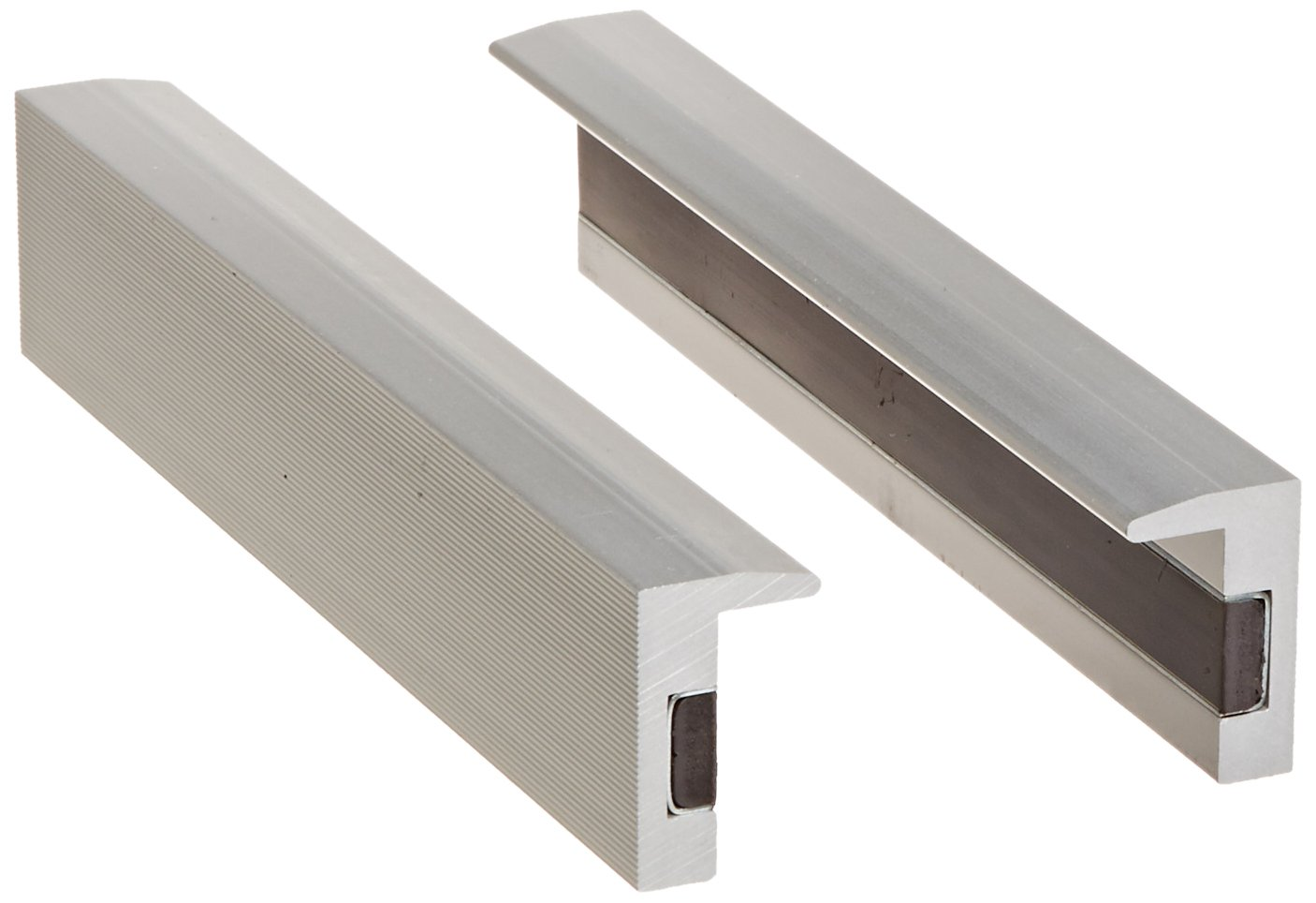 Yost Vises MA-360 6'' Magnetic Aluminum Vise Jaw Caps (1 Pair)