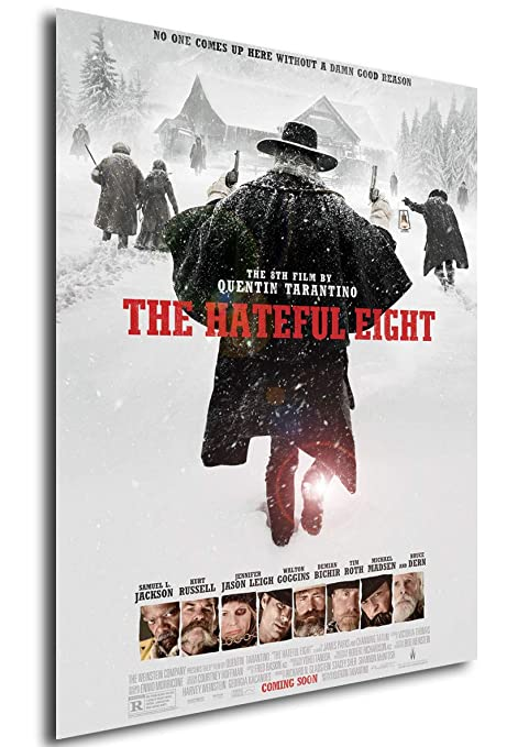 Instabuy Poster Cartel de pelicula - The Hateful Eight (A4 ...