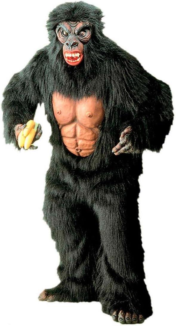 NET TOYS Disfraz Completo de Gorila en Felpa Traje Animal ...