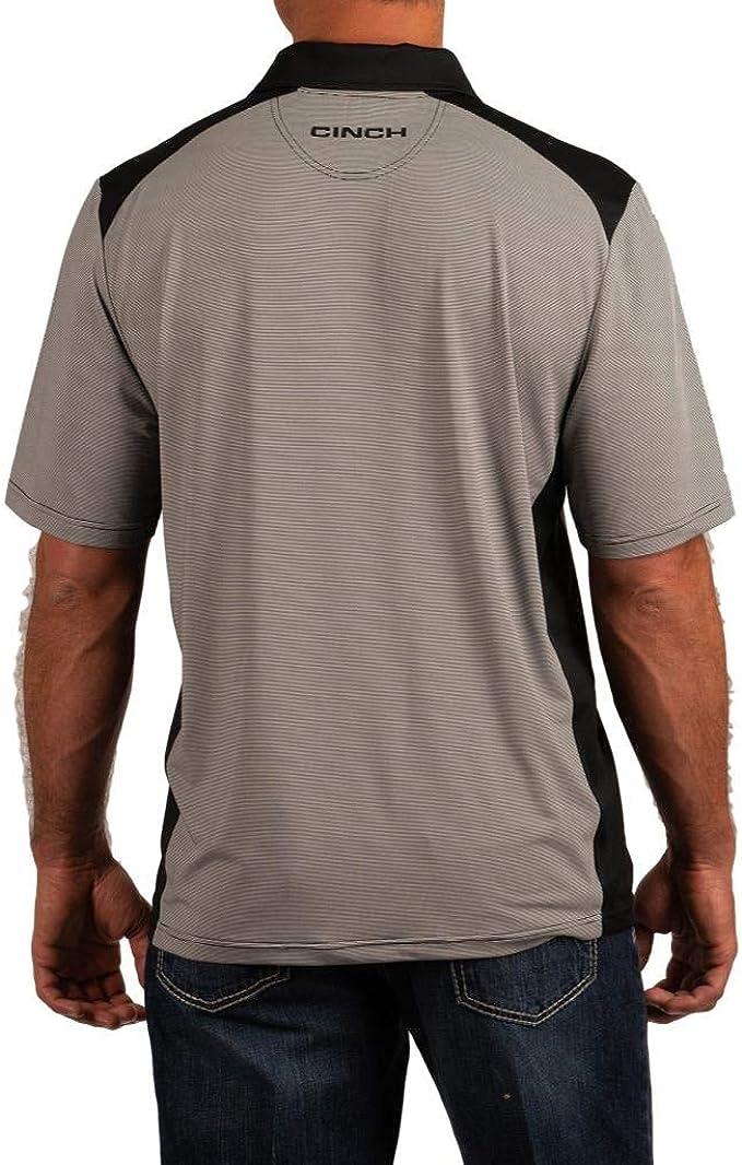 Cinch Mens Short Sleeve Arenaflex Polo MTK1833002