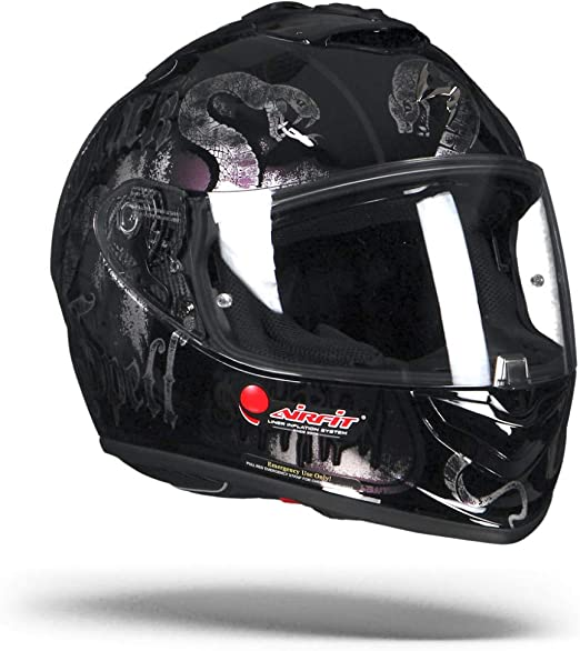 multicolor Scorpion Casco Moto exo-1400/Air blackspell Chameleon talla M