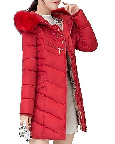 Mujer Outerwear Espesar Abrigo largo Abrigo de abrigo de Chaqueta con capucha