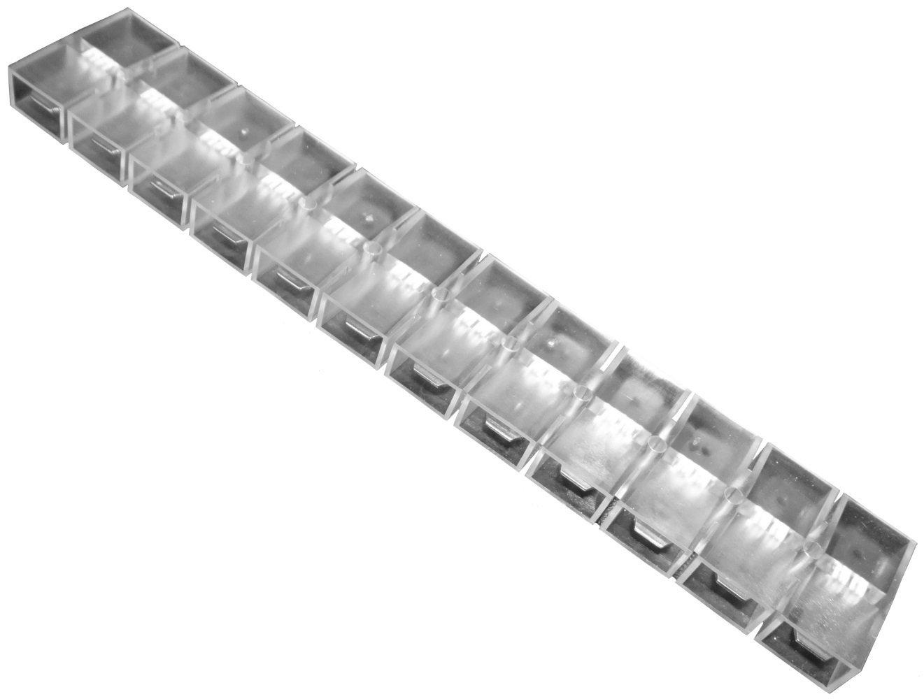 AERZETIX: Bloque de conexion conector 12 vias terminales electricos 6.3mm 0.8mm 25A 300V SK2-C11677-R617