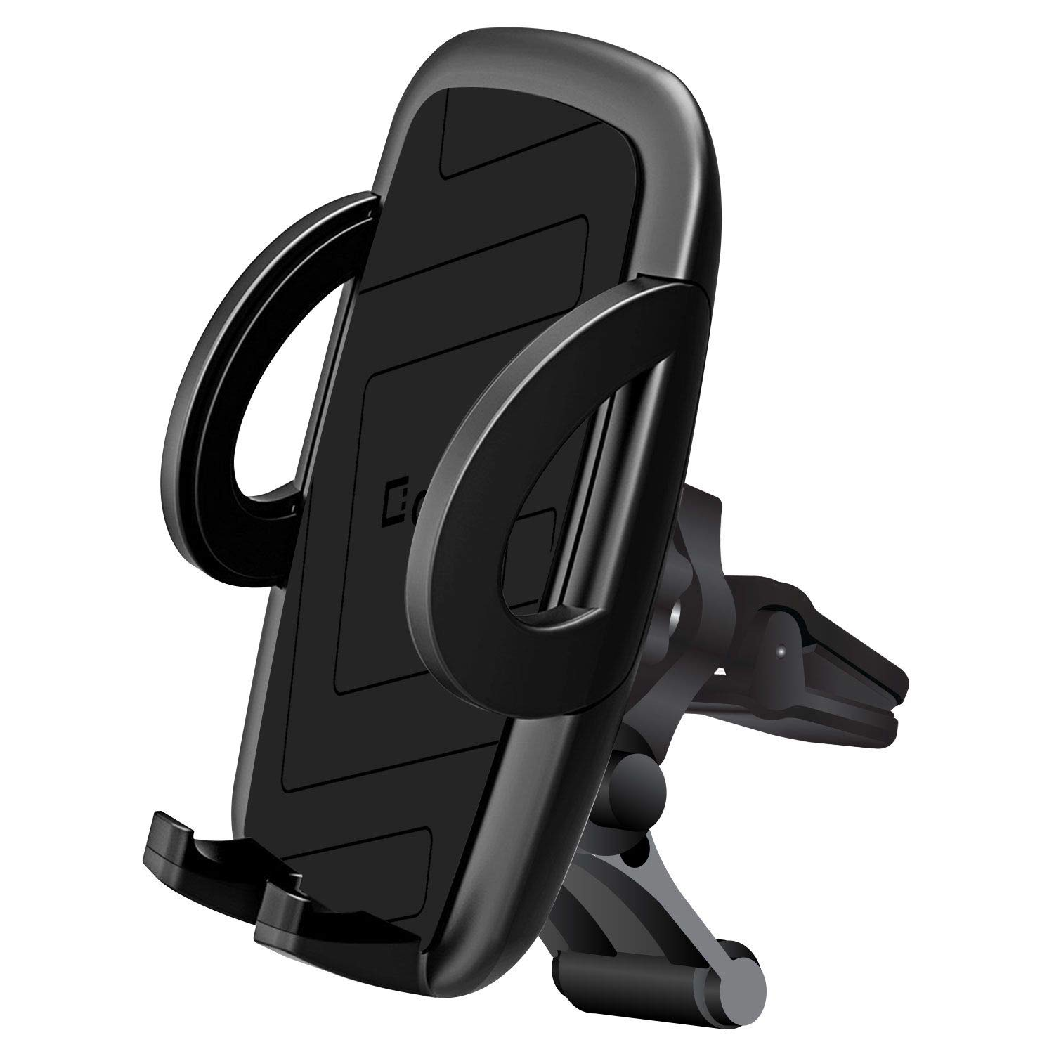 Cellet Smartphone Air Vent Car Mount Phone Holder, Atom Cloth Compatible with Samsung Galaxy Series (S10, S10+ Plus, S10 5G, A20, A30, A50, Note 10, Note 10 Plus), iPhone XS Max, XR, XS, Moto G7 Power by Bemz Depot