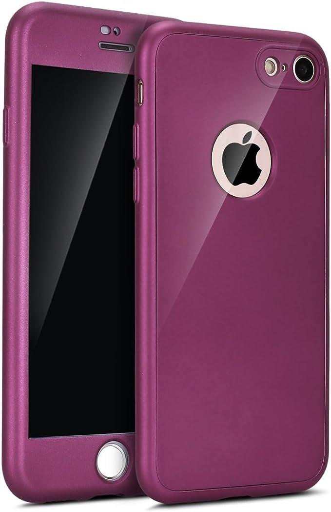 Custodia in silicone per iPhone 8 Plus / 7 Plus - Porpora - Apple (IT)