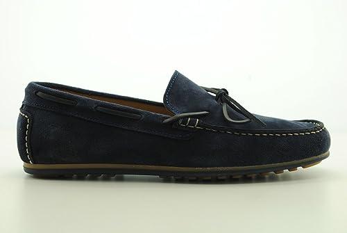Keys Hombre Mocasin Gamuza Hombre Sneaker Mocasines con Laccetti Beige,45: Amazon.es: Zapatos y complementos