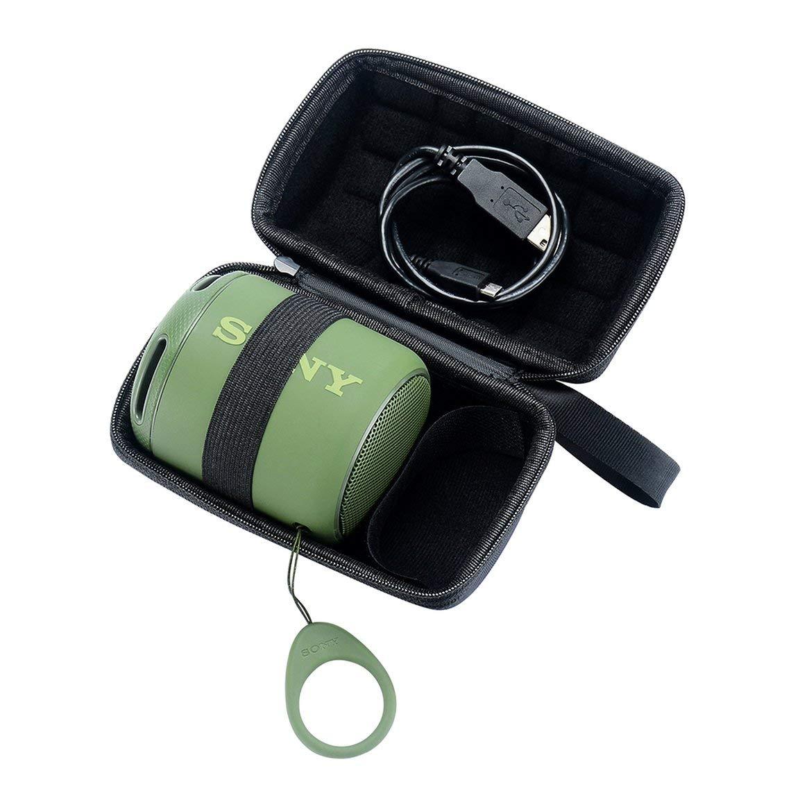 Zinniaya Cas de Haut-Parleur sans Fil Portable Mini-Choc pour Sony SRS-XB10 Haut-Parleur Housse de Transport sans Fil Haut-parleurs Sac
