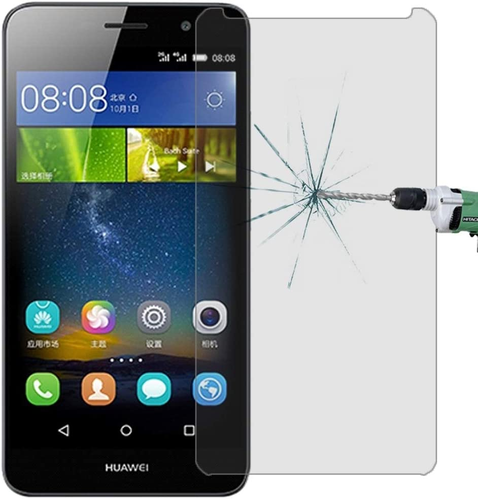ALICEWU WJH 100 PCS for Huawei Y6 0.26mm 9H Surface Hardness 2.5D Explosion-Proof Tempered Glass Screen Film