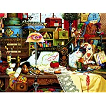 Buffalo Games Maggie the Messmaker, 2000-Piece Jigsaw Puzzle