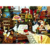 Buffalo Games Charles Wysocki Cats, Maggie The Messmaker - 750pc Jigsaw Puzzle