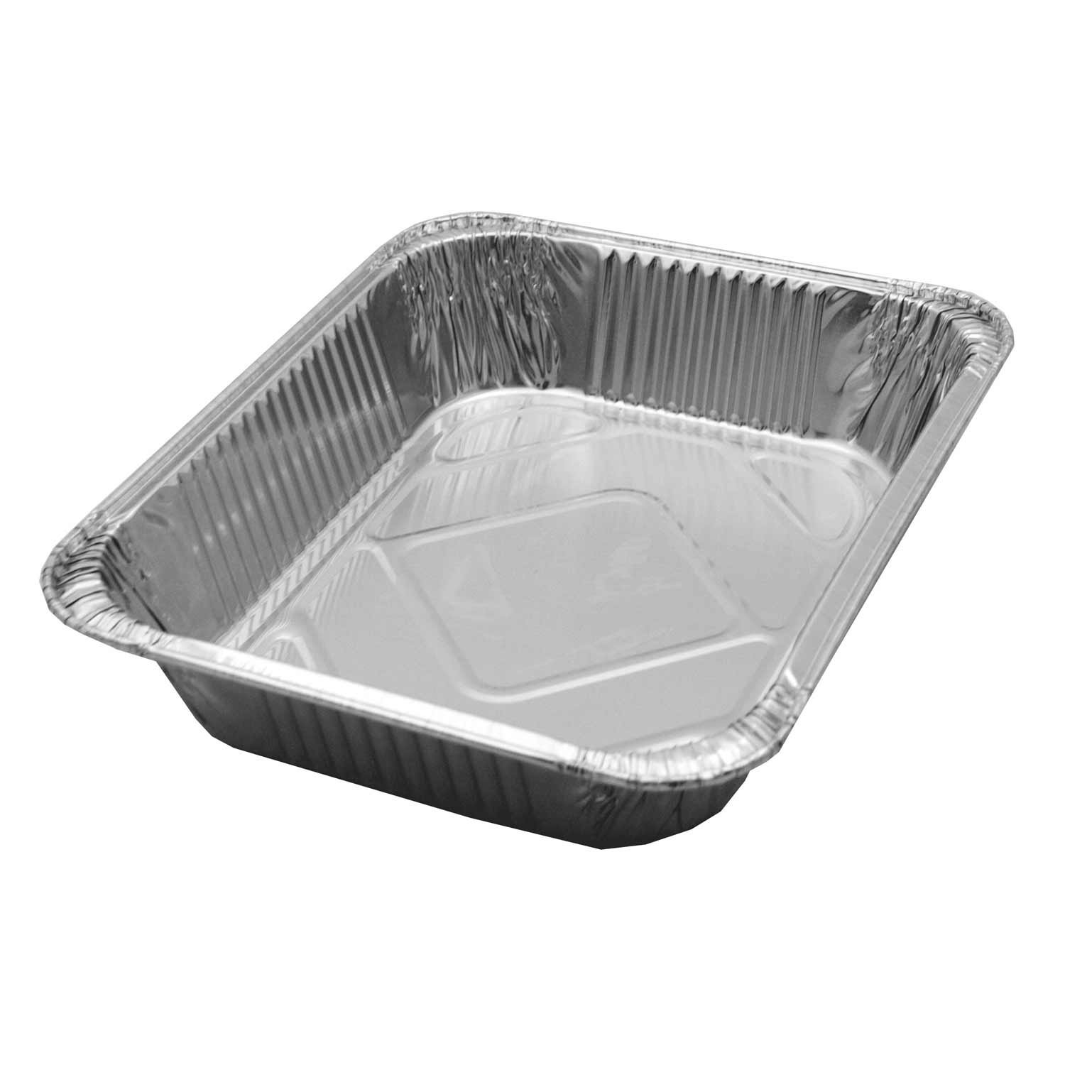 Party Essentials HALF-DEEP-L-R Half Size Deep Foil Steam Table Pan (Case of 100) Northwest Enterprises F10713