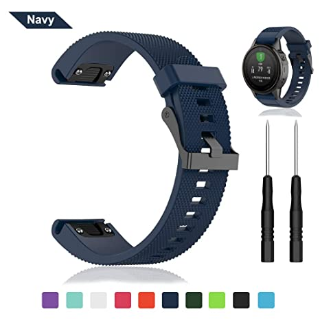 Bemodst - Correa de Reloj para Garmin Fenix 5S GPS Smartwatch ...