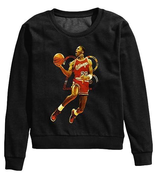 Royaume-Uni disponibilité e91be e5cd3 Chicago Bulls Dunk Michael Jordan 23 Femme Pullover ...