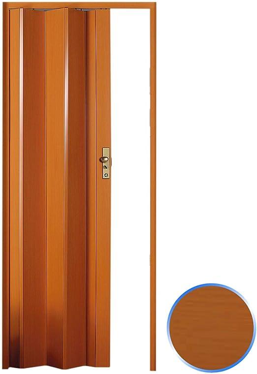 Forte Puerta Plegable de Interior de PVC Cerezo 83x214 cm Mod.Maya ...