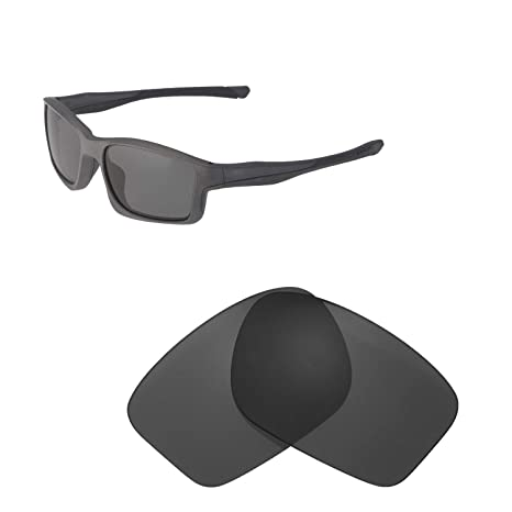 4f049788db5 Walleva Replacement Lenses for Oakley Chainlink Sunglasses - Multiple  Options Available (Black - Polarized)