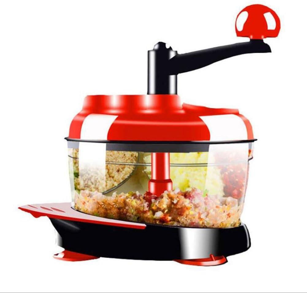 Compra TP MALL – Robot de Cocina Verduras Chopper Manual Mano Dicer Corte de Tela Cutter Chop o Blend Verduras Fruta nueces Hierbas cebollas y Salsas en Amazon.es