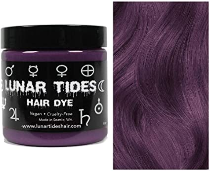 Smokey Mauve, tinte para el cabello semi permanente rosa - 118 ml - Lunar Tides