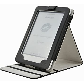 Folio Funda de cuero con soporte ajustable Modo de Suspensión Para ...