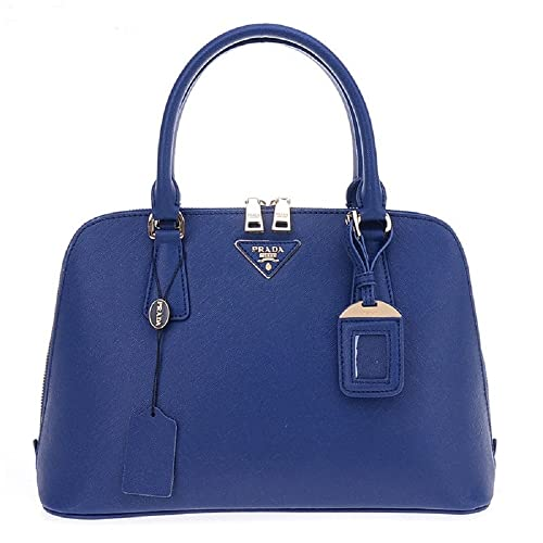 Prada Women s Cowhide Shell Trumpet Handbag (blue)  Amazon.ca  Shoes ... 5d50121ad1c38