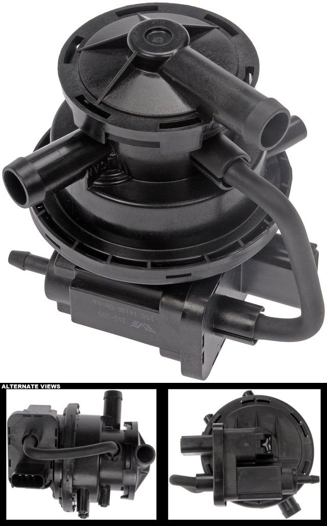 APDTY 113762 Leak Detection Pump Fits 1998 Jeep Grand Cherokee, 1998-2001 Dodge Ram 1500, 1998-2002 Dodge Ram 2500/3500 (Gas Engines Only; Replaces 4891415AC, 4669336AD, 4891 415 AB)