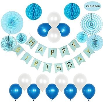 22 PCS Decoraciones para Feliz Cumpleaños ,GZQ,Adorno ...