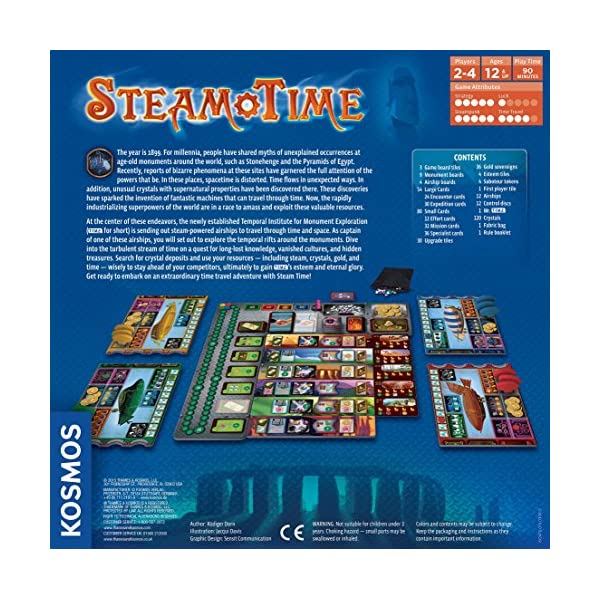 Steam Time Board Game 5