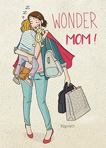 rigolobo Pochette Wonder Mum sign/ée Kopines