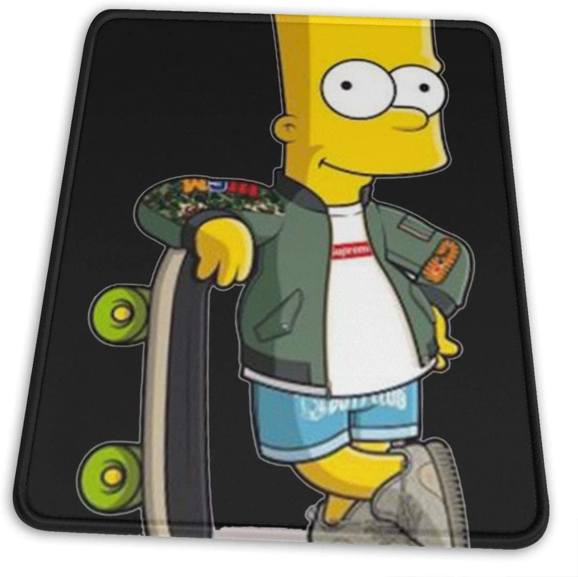 The Simpsons Stylish Printing Design is Durable and Green Mouse Pad