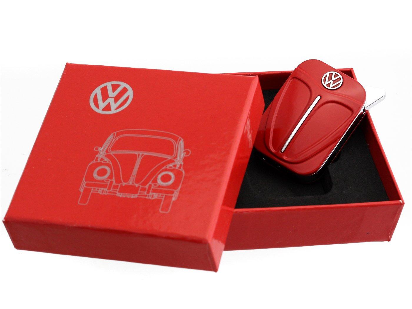 Volkswagen Originale accendino nella progettazione scudo anteriore - in diversi colori - Gift Set (Red) RAD