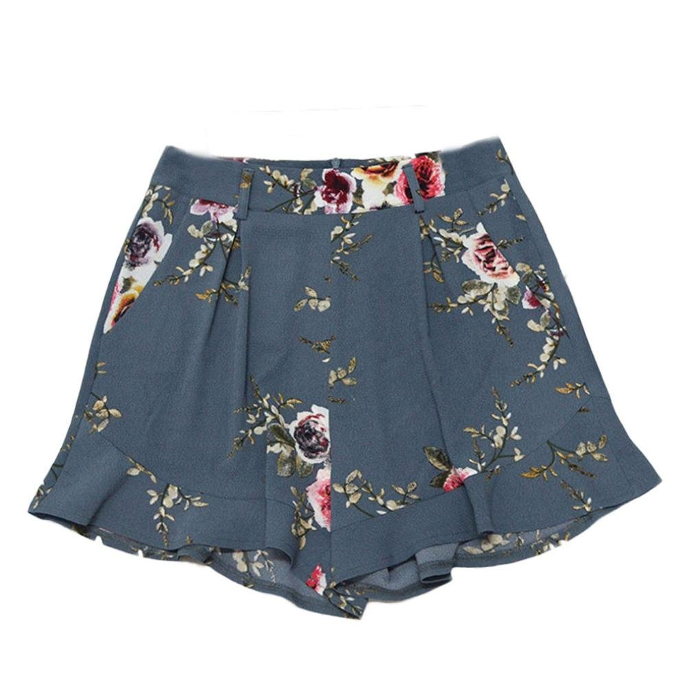 Amlaiworld Hot Shorts, estivi stampa fiori shorts gonna donna ragazze pantaloni
