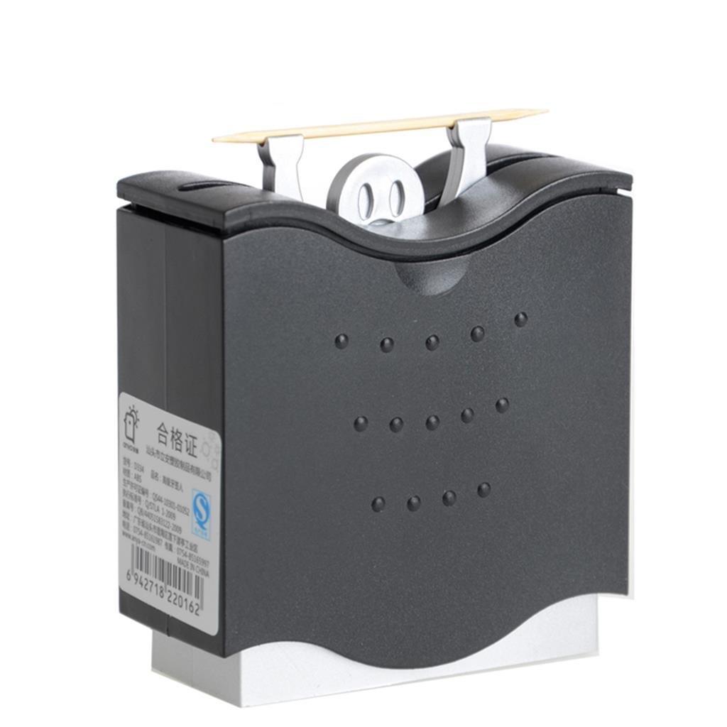 TRRE Creativo Automatico Box stuzzicadenti (Colore : Nero) TRRE UK