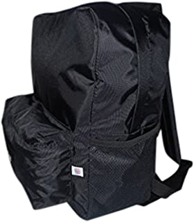 product image for Student Backpack or day trip Backpack with two side pockets and a front pocket light weight durable nylon.