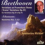 Beethoven: Eroica Variations, Other Variations; Schumann: Noveletten