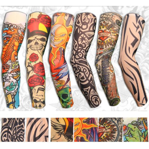 Yariew 6pcs temporary tattoo sleeves 6pcs set for Tattoo sleeves amazon
