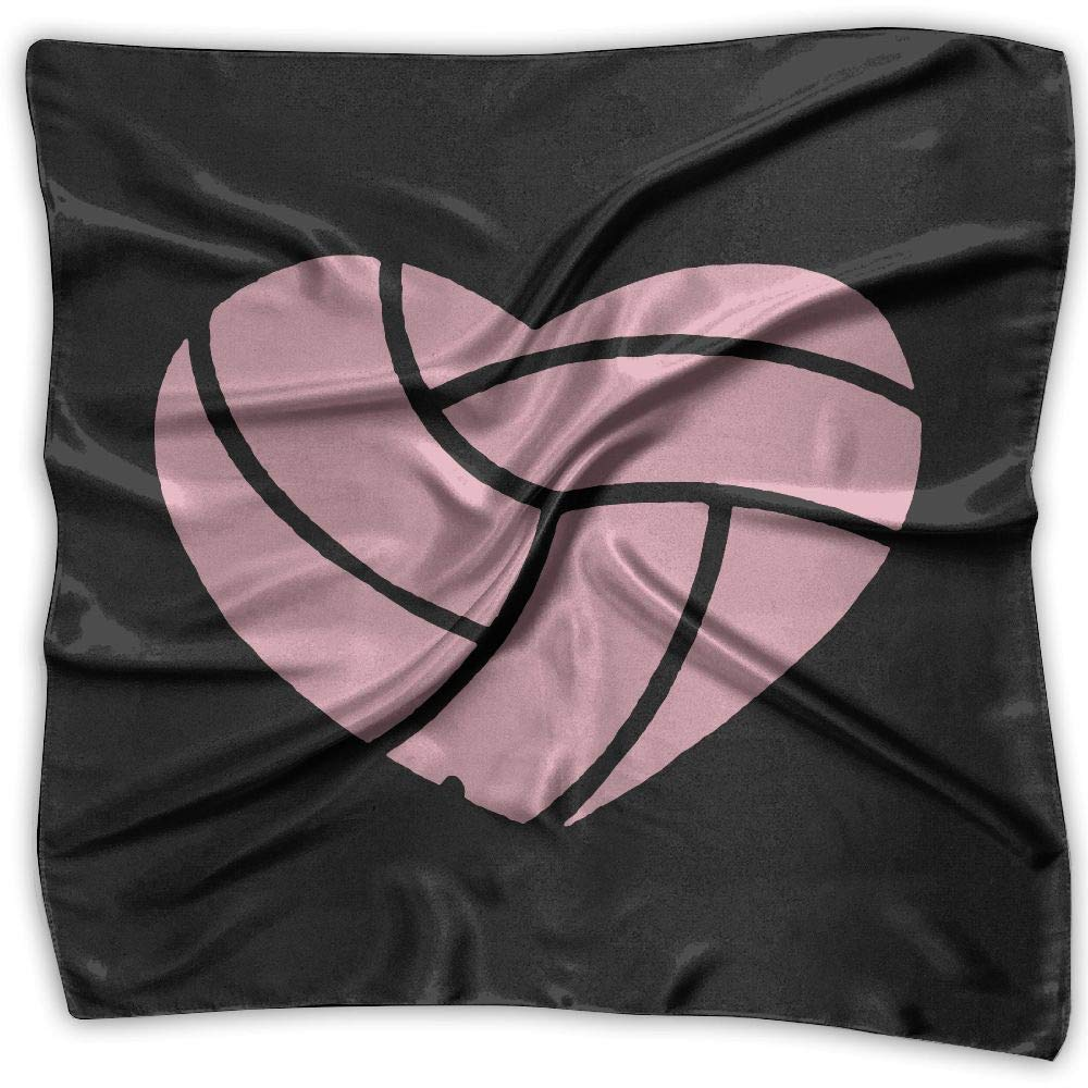 Love Volleyball Men Women Silky Scarf Headband Bandana Scarves Set by EQE7QW (Image #1)