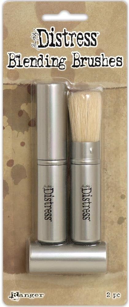 Ranger Tim Holtz Distress Blending Brushes 2/Pkg