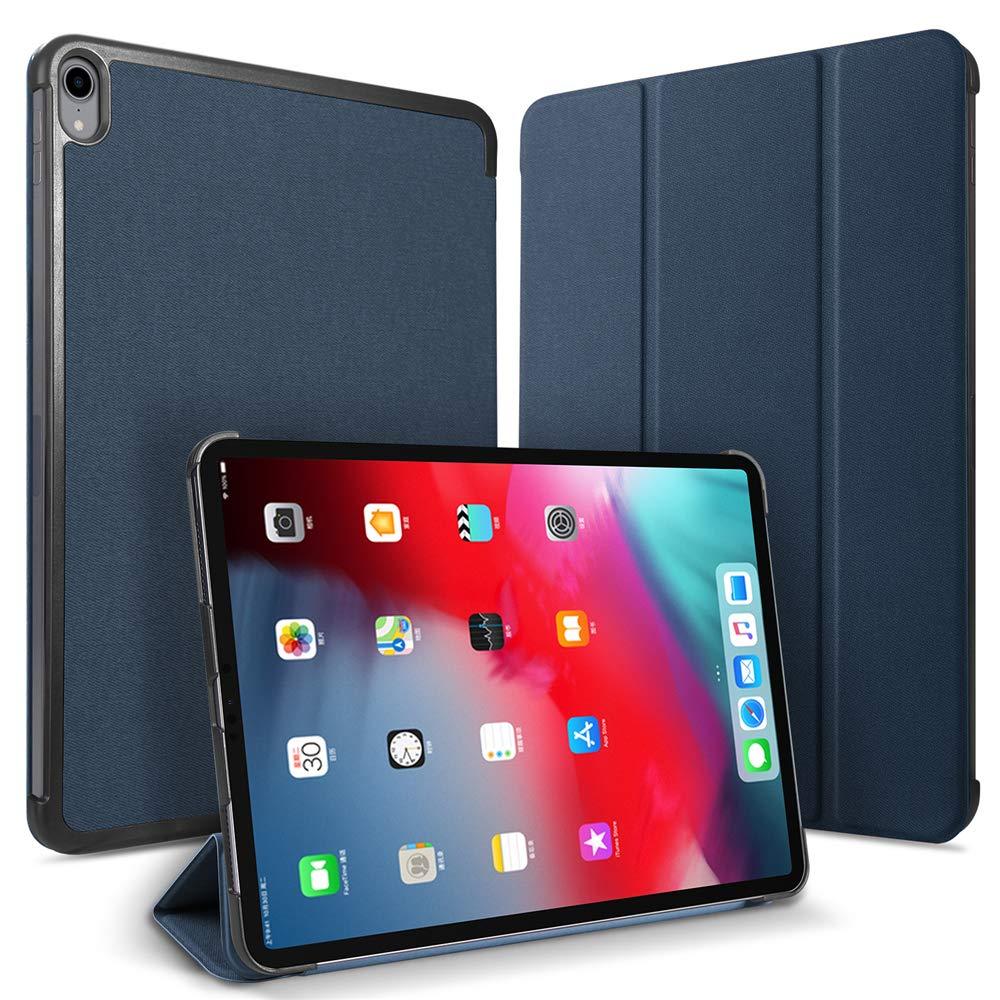 お買い得モデル iPad Pro B07L98HKDH 12.9インチ iPad 2018年 プレミアム PUレザー フリップケース ブルー ケースリストレザーケース ブルー K6V2-WM-332 ブルー B07L98HKDH, 【格安saleスタート】:4b605adf --- a0267596.xsph.ru