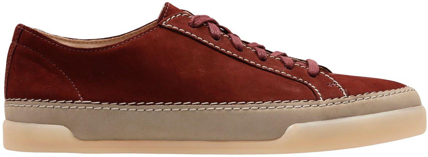 CLARKS Women's Hidi Holly US Rust Sneaker B0776691VG 8.5 B(M) US Rust Holly Nubuck 934303