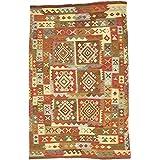 Unique Loom 2303695 Kilim Maymana Oriental Area Rug, 6'5' x 9'10', Red sale 2017