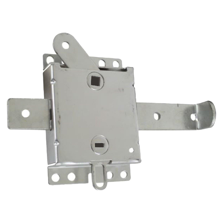 Ideal Security Inc. SK7115 Slide Lock, Galvanized