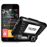 Rexing V2 Front + Back Dual Camera 1080p Full HD Wi-Fi Ultra Wide Angle LCD Screen Infrared Night Vision Car, Uber, Taxi Dash