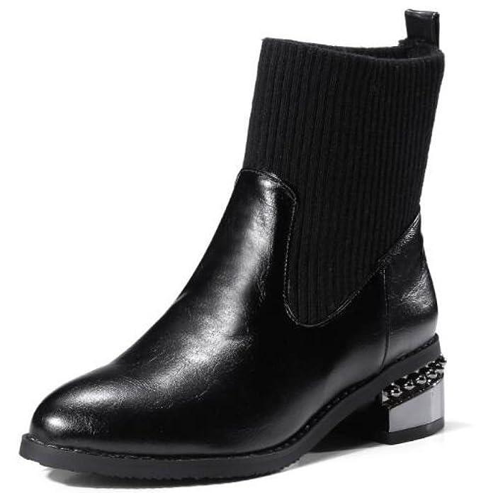 Martin Boots Women With Boots Women Autumn And Winter Women's Shoes B0777KJBQC