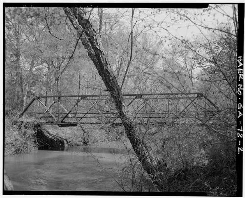 - HistoricalFindings Photo: Walton County Road 162 Bridge,Social Circle,Walton County,Georgia,GA,HABS,1