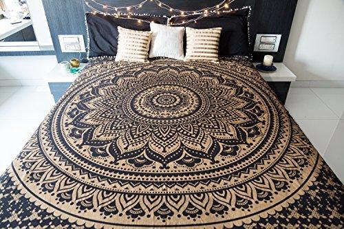 Bohemian Mandala Tapestry Hippie Wall Hanging, Indian