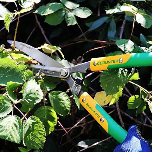 Q 23 // 600 mm Cisailles de Jardin droits Garantie de satisfaction 90 jours! GR/ÜNTEK Cisailles /à Haie Forg/ée
