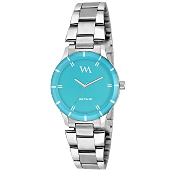1ec66f5d0b9 Buy Watch Me Analogue Blue Dial Girl s   Women s Watch -Wmal-148 Online at  Low Prices in India - Amazon.in