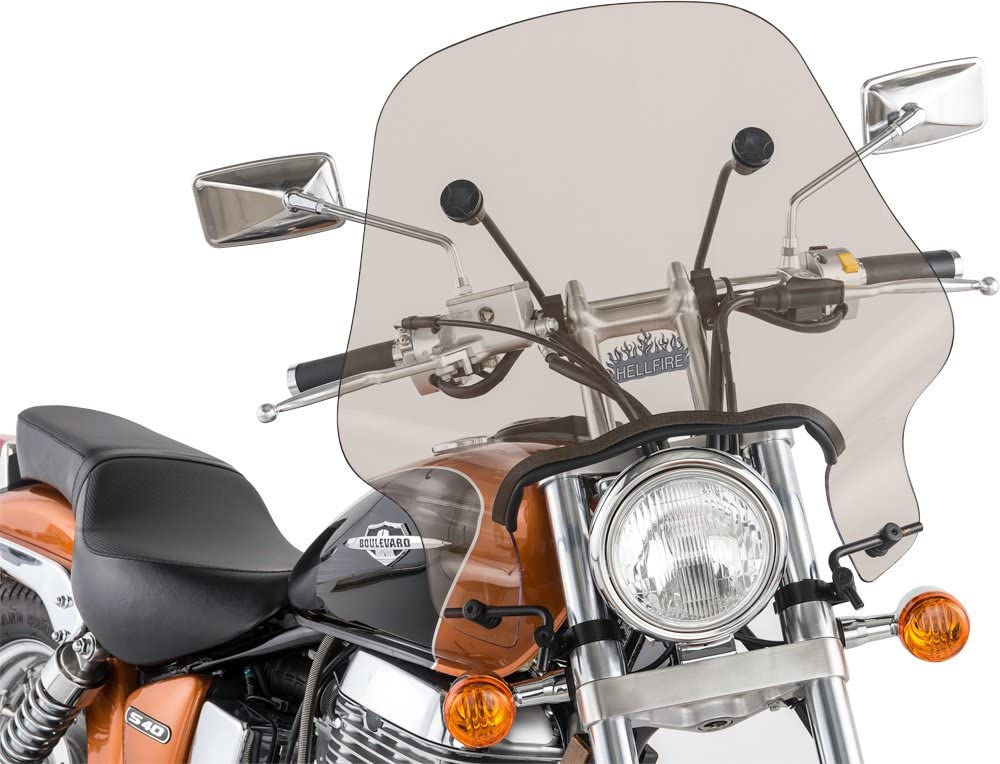 Smoke Slipstreamer SS-10-T Motorcycle Windshield