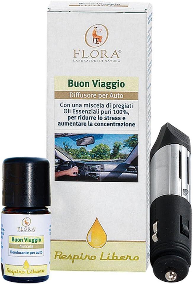 Taoasis Buen Viaje Difusor Coche Aceites Esenciales Flora - 300 g ...